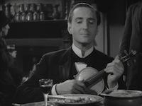 Basil Rathbone Sherlock Holmes violin