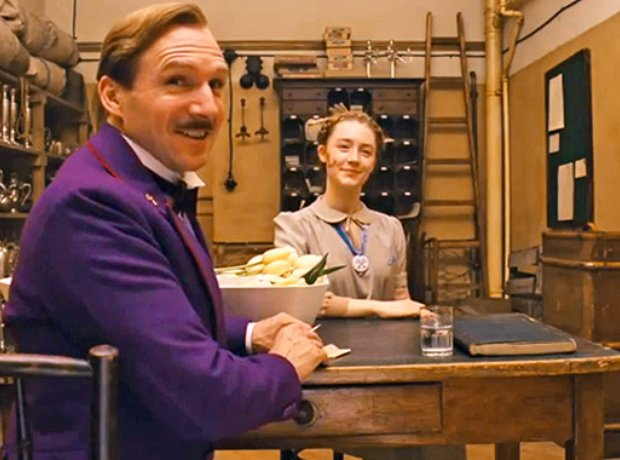 Grand Budapest Hotel Wes Anderson Fiennes Ronan