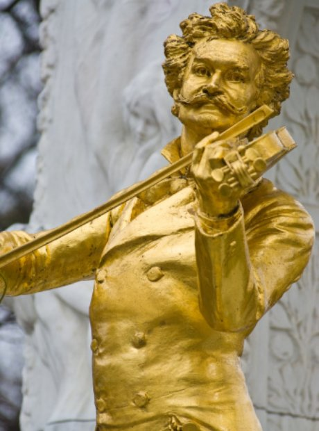 Johann Strauss memorial Vienna