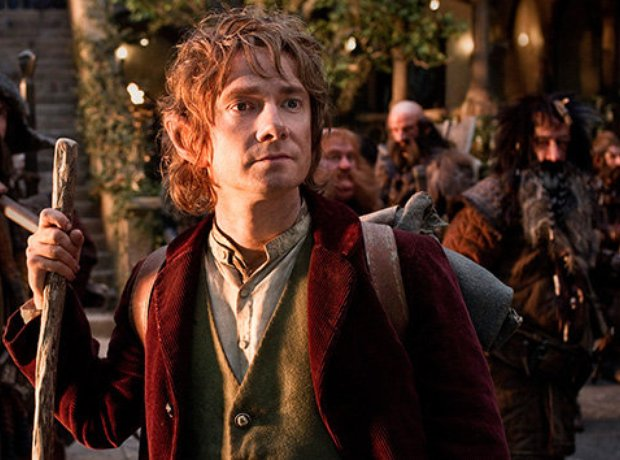 Hobbit there and back again Martin Freeman