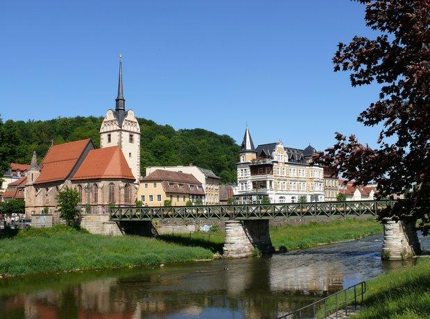 Gera Thuringia Germany Bach