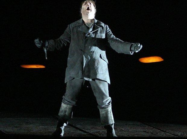 Bryn Terfel Flying Dutchman Covent Garden 2009