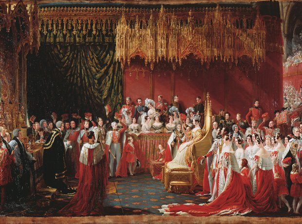 Queen Victoria coronation Johann Strauss