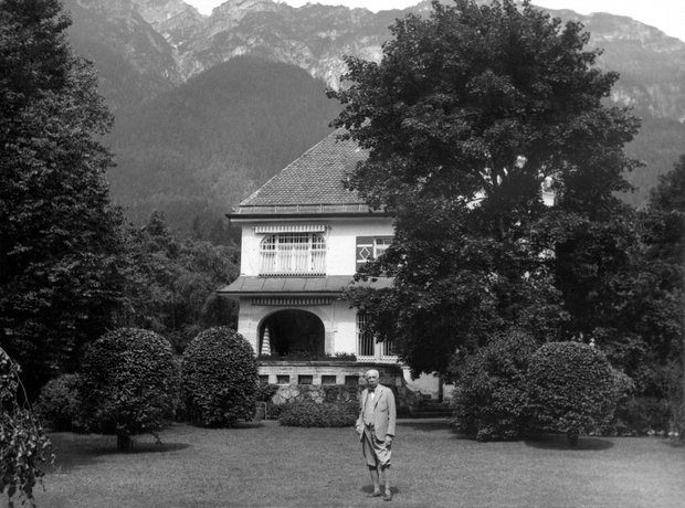 Richard Strauss estate Garmisch-Partenkirchen