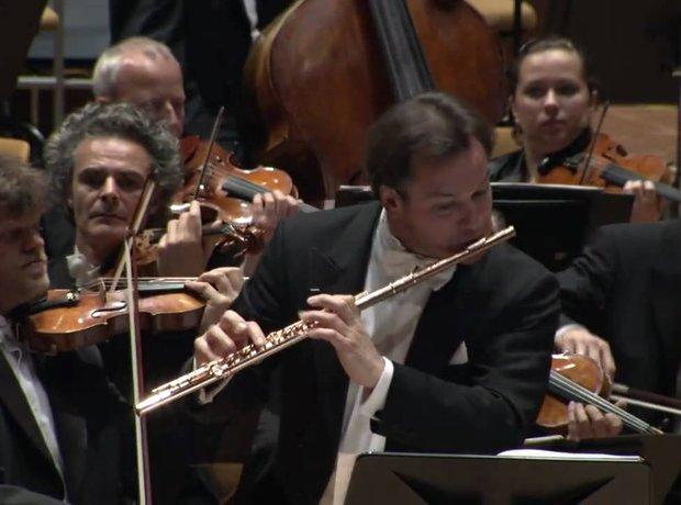 Emmanuel Pahud flute player flautist