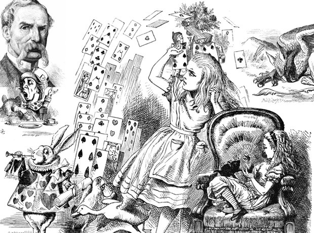 John Tenniel Alice in Wonderland Lewis Carroll
