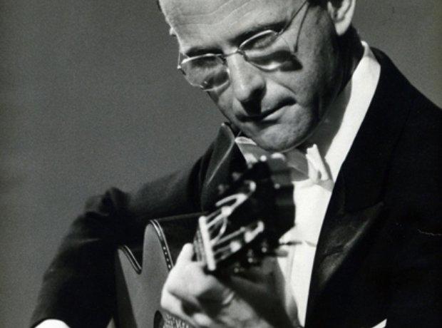 Guitarist Narciso Yepes