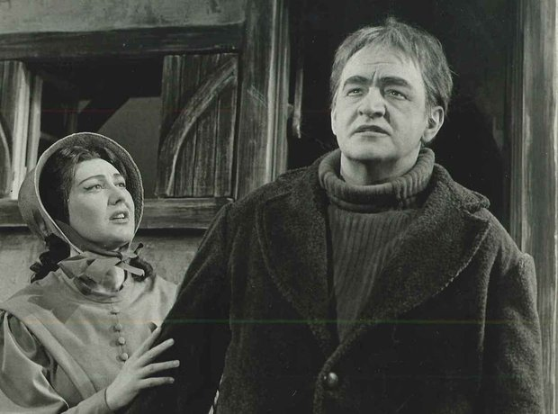 Peter Grimes 1963 Ronald Dowd Elizabeth Fretwell.