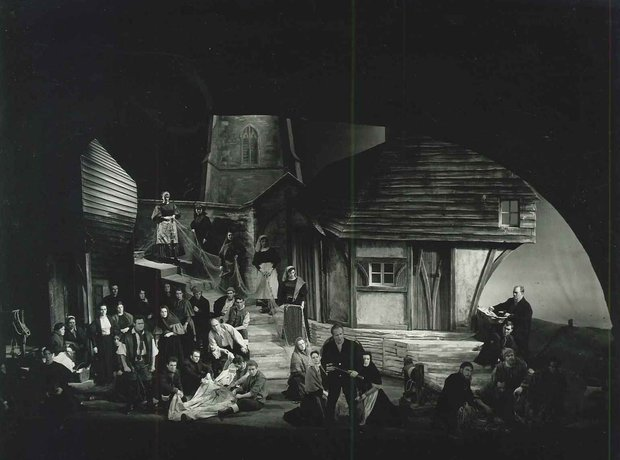 Peter Grimes 1963 production Meredith Davies