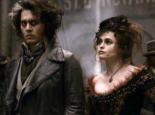 Sweeney Todd Depp Helena Bonham Carter