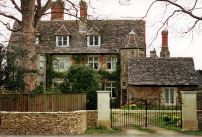Vaughan Williams birthplace Down Ampney