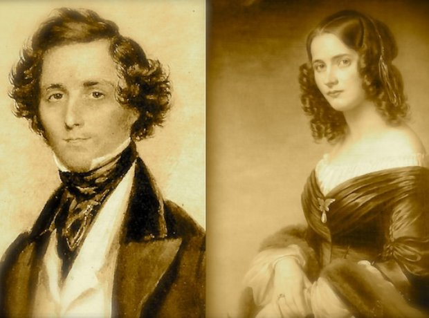Felix Mendelssohn Cécile Jeanrenaud