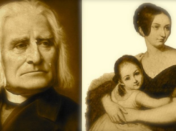 Franz Liszt Princess Carolyne von Sayn-Wittgen