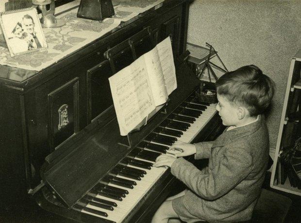 Karl Jenkins piano pianist boy