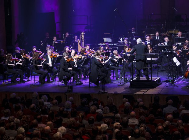 Andrew Greenwood and Orchestra at Classic FM Live