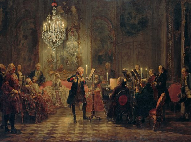 C.P.E. Bach Frederick the Great flautist