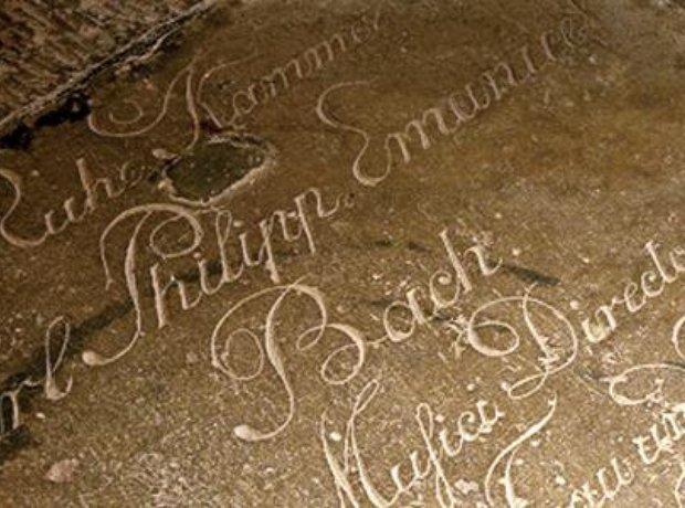 C.P.E. Bach grave Michaeliskirche