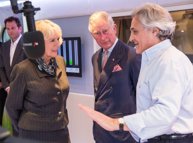 HRH Prince Charles and HRH The Duchess of Cornwall