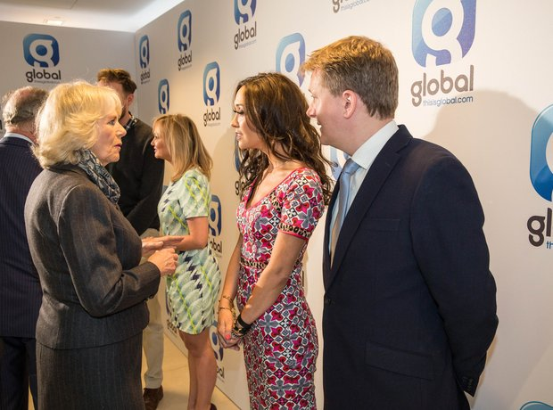 Myleene Klass Aled Jones Duchess of Cornwall