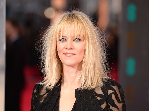 Edith Bowman on BAFTAs red carpet 2014