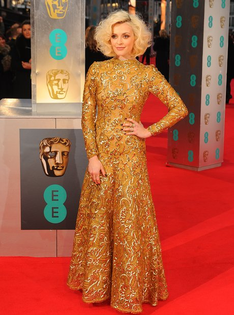 Fearne Cotton on the BAFTAs red carpet 2014