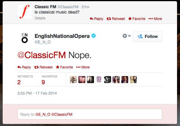 is classical music dead?
