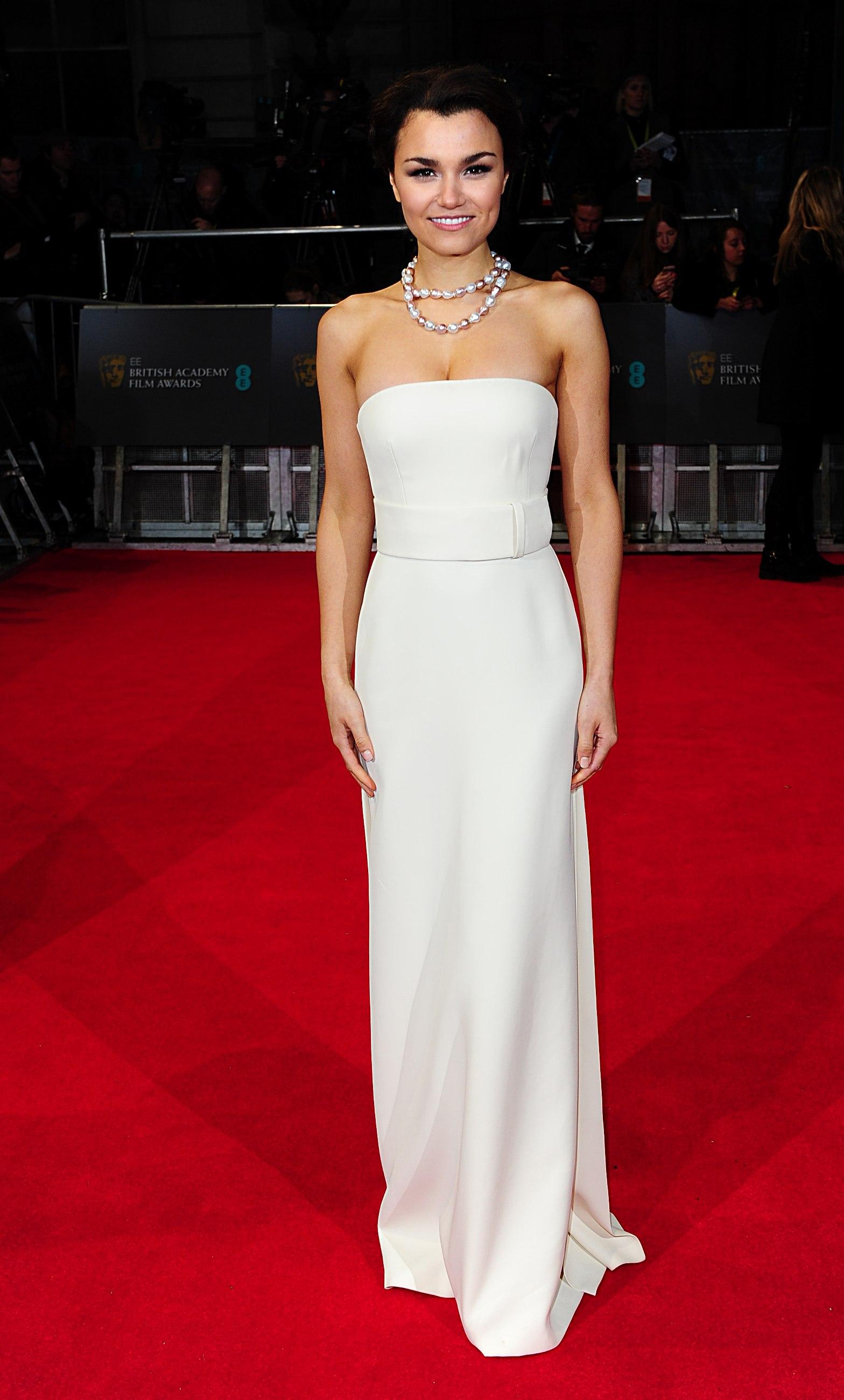 Steve McQueen on the BAFTAs red carpet 2014
