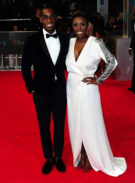 Steve McQueen on the BAFTAs red carpet 2014