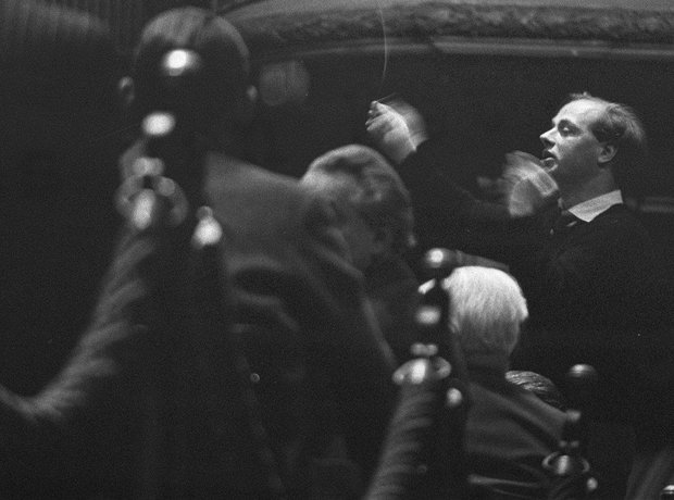 Bernard Haitink conductor Concertgebouw