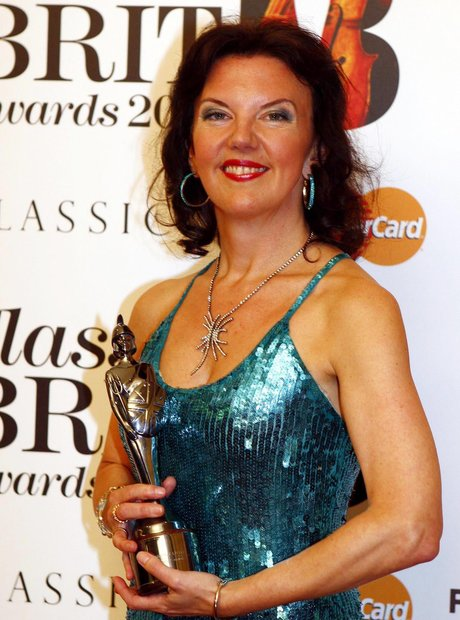 Tasmin Little BRIT Awards Critics 2011 violinist