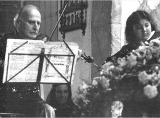 Tasmin Little Yehudi Menuhin David Niven funeral