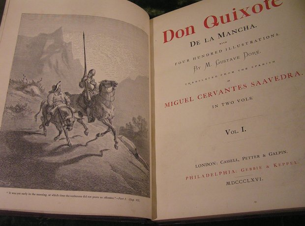Don Quixote Cervantes Massenet