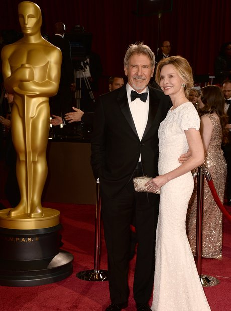 Harrison Ford and Calista Flockhart at the Oscars