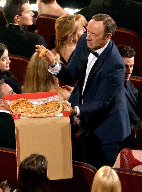 Kevin Spacey Oscars 2014 and some Pizza