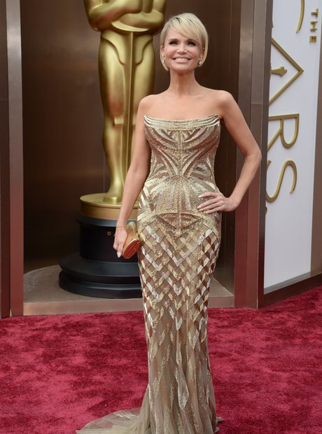 Kristin Chenoweth at the Oscars 2014 red carpet