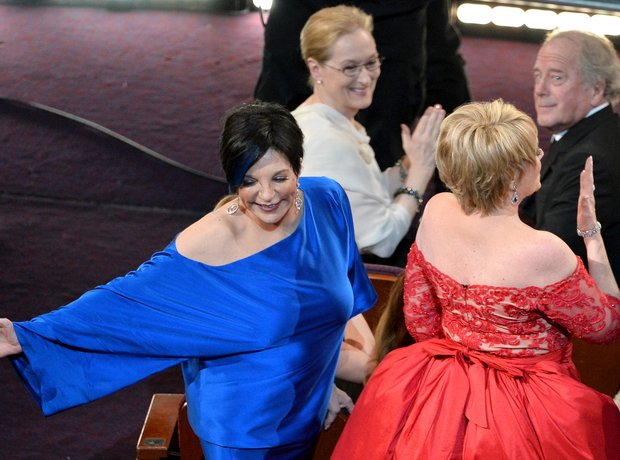 Liza Minnelli and Lorna Luft Oscars 2014
