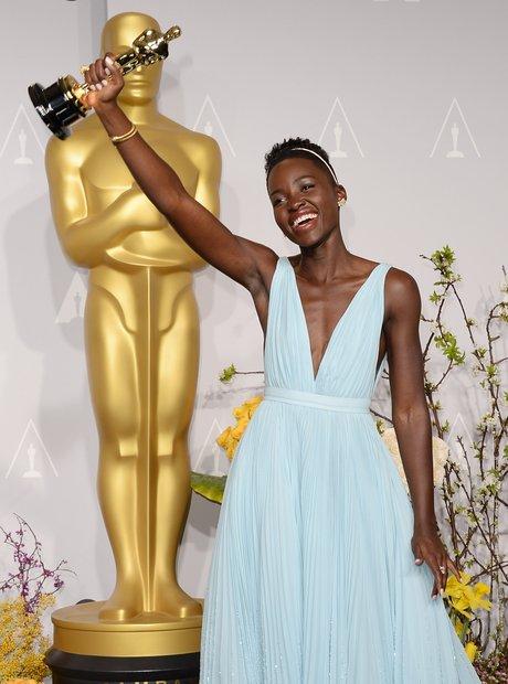 Lupita Nyong'o at the Oscars 2014