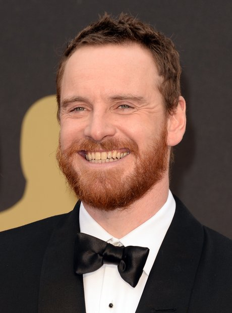 Michael Fassbender at the Oscars 2014 red carpet