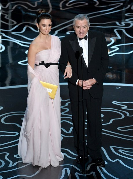 Penelope Cruz and Robert De Niro Oscars 2014