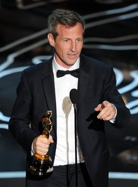 Spike Jonze at the Oscars 2014 winner
