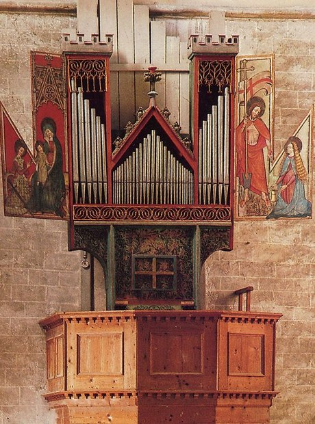Basilica Valere Sion Switzerland oldest pipe organ