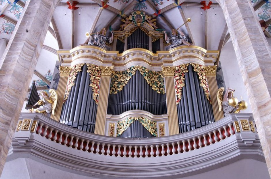 Frieberg organ cathedral Germany