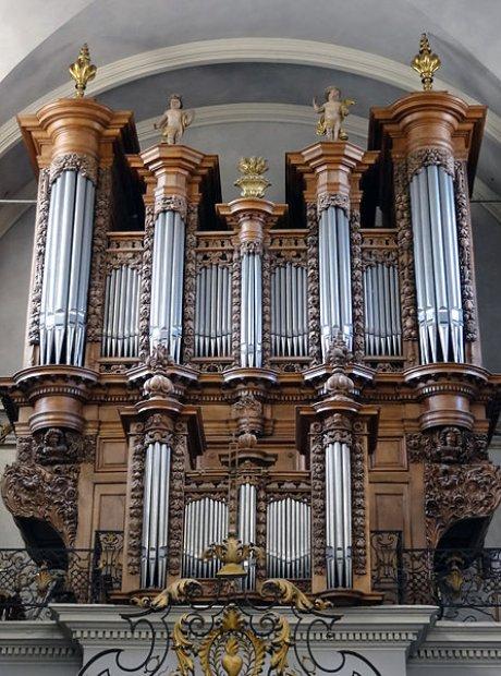 St Pierre des Chartreux Toulouse organ