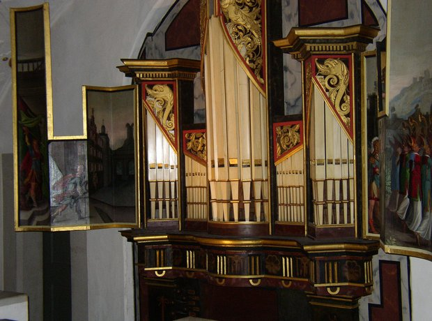 Wilhelmsburg Castle organ Schmalkalden Germany