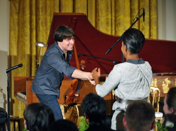Joshua Bell violinist Michelle Obama White House