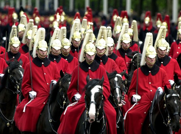 London trooping the colour
