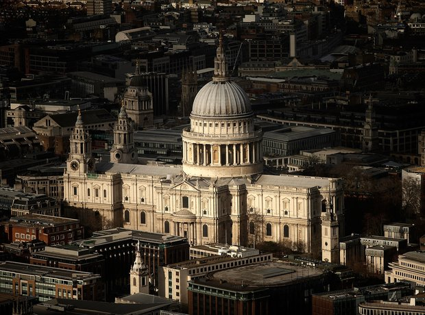 London St Paul's View from the Shard