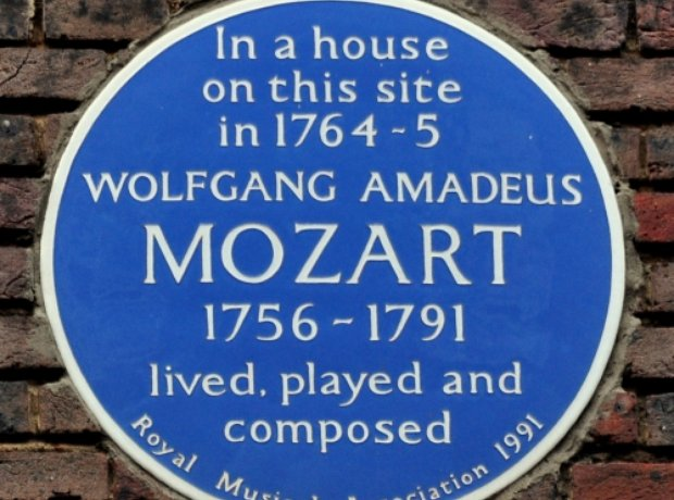 London Mozart house