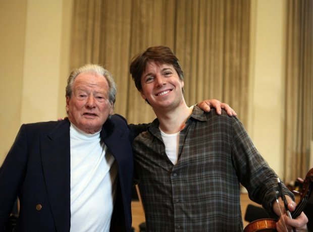 Neville Marriner conductor Joshua Bell