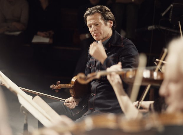 Neville Marriner conductor Academy St Martin Fields